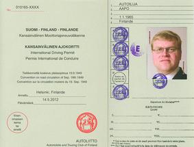 Autoliitto kansainvälinen ajokortti